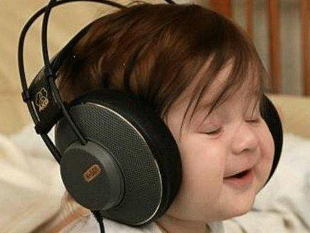 استمتاع بالموسيقى